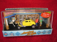 American Graffiti Mel's Diner Milner 1932 Ford Deuce Coupe Diorama MINT in BOX