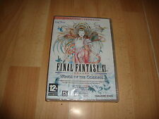 FINAL FANTASY 11 XI WINGS OF THE GODDESS EXPANSION PARA PC NUEVO PRECINTADO