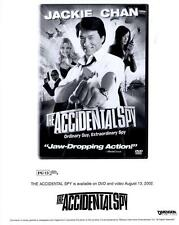 """Jackie Chan in """"The Accidental Spy""""  2002 Vintage Publicity Photo"""