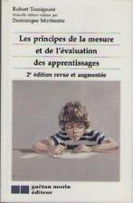 Principes de la Mesure et L'evaluation des Apprentissages - Tousignant Morisette