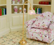 1/12 Dollhouse Miniature Floor Lamp  Battery  Operated LF015E