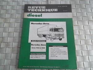 REVUE TECHNIQUE MERCEDES-BENZ SERIE 1933 ET 1938