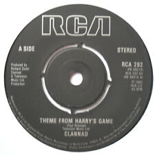"CLANNAD - Theme From Harry's Game - Excellent Condition 7"" Single RCA 292"