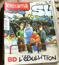 *TELERAMA 02/2011*  la BD en force ! + David Marton + Tunisie + Franz Liszt.....