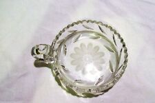 McKee Innovation Clear Glass Nappy Dish 1900's