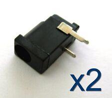 2x Connecteur prise Jack femelle 4x1mm / 2x Power supply Jack female connector