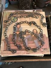 Four Lengths Of Solid Brass Antique Lamp Chain For Pendants - Lamp Restoration