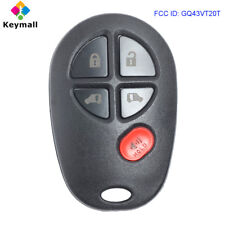 for Toyota Sienna 2004-2016 Replacement Remote Control Car Key Fob FCC GQ43VT20T