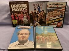 Lot of 5 Comedy Dvds - Talladega Nights, Bridesmaids, Best in Show, etc.