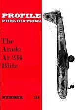 ARADO Ar 234 BLITZ: PROFILE #215/ DOWNLOAD/ 8 ADDED PAGES incl CUTAWAY
