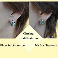 10 oder 60 Ohrring Stabilisatoren Ohrläppchen stütze Ohrlochschutz - Korrektur