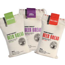 Beer Bread Mix - Garlic and Herb, Chilli and Garlic, Olive and Rosemary 3 x 450g