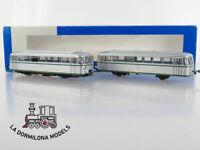 DR309 H0 =DC ROCO FERROBUS DIESEL FRC-301 RENFE PLATA/VERDE - S/C