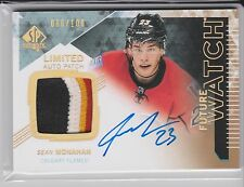 SEAN MONAHAN 13/14 UD SP AUTHENTIC FUTURE WATCH LIMITED 4C RC PATCH AUTO /100