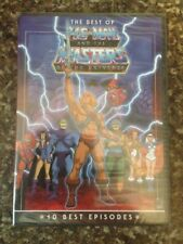 THE BEST OF HE MAN MASTERS OF THE UNIVERSE DVD BRAND NEW & SEALED REGION 1
