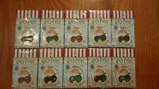 Lot of 10 Harry Potter Bertie Bott's Every Flavor Flavour Beans 09/2020-12/2020