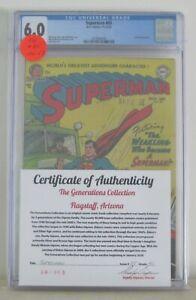 Superman #85 (Wayne Boring) Golden Age-DC Comics CGC 6.0   {Generations}