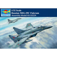 Trumpeter 03224 1/32 Russian MIG-29C Fulcrum Fighter Aircraft Assembly Model