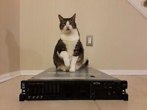 IBM System x3650 M4 Enterprise Server 2x2.4GHz 12 Cores 64GB 4x300GB
