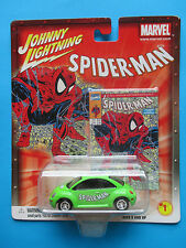"JOHNNY LIGHTNING MARVEL COMICS ""SPIDER-MAN"" '98 VW BEETLE #1 VHTF"