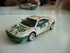 """Bang Ferrari 348 """"TOTIP"""" in White on 1:43"""