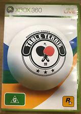 Rockstar Table Tennis (Microsoft Xbox 360, 2006)