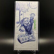 Garbage Pail Kids We Hate The 90s Triptych Sketch Card - Matt Steffens