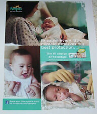 2011 ad page - Pampers Swaddlers Newborn Baby Diapers Procter & Gamble PRINT AD