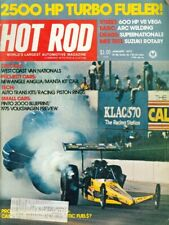 1975 Hot Rod Magazine: 2500 HP Turbo Fueler/Pinto 2000 Blueprint/VW Preview
