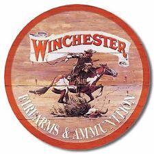 Winchester Express-ROLLED EDGES Tin Sign rifle shotgun handgun hunting