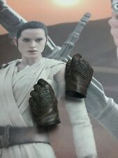 1/6 Hot Toys Star Wars The Force Awakens Rey MMS337 Hands (D) *US Seller*