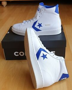 Converse Pro Leather High All Star unisex weiß/blau 170359C Gr. 42 und 45 NEU/OV