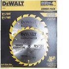 DeWalt DW9056 5-3/8 x 24 & 16tpi Saw Blade Combo Kit