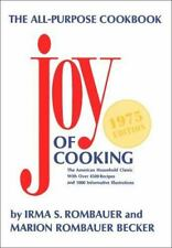 JOY OF COOKING by Irma S. Rombauer, Marion Rombauer Becker
