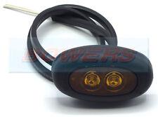 RUBBOLITE / TRUCK-LITE M851 851/03/04 12V 24V LED AMBER SIDE MARKER LAMP LIGHT