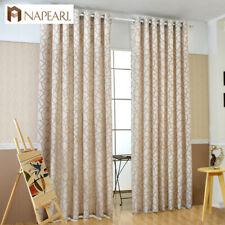 NAPEARL 1 Panel Striped Jacquard Curtains Window Semi-shade Living Room Drapes