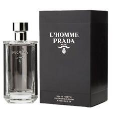 Prada L'Homme by Prada 3.4 oz EDT Cologne for Men New In Box