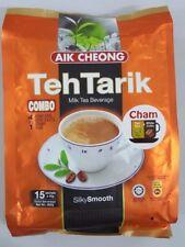 Malaysia Aik Cheong 4 in 1 Teh Tarik Combo Coffee Tea 15 sachets x 40g (600g)
