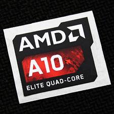 AMD A10 Elite Quad Core Sticker 16.5 x 19.5mm APU A Seies Case Badge USA Se