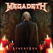 Megadeth Th1rt3en (2019 Reissue) CD New 2019