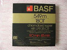 1x BASF chromdioxid super HiFi LPR 35 CR, 18cm Alu-Spule, neuw.in OVP ! für AKAI