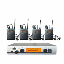 UHF Wireless In Ear Monitor System w/3 Bodypack Receivers Inear Stage Headphones