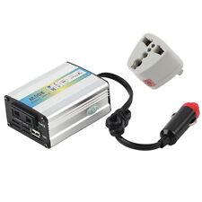 200W Auto Car Power Inverter USB Converter DC 12V To AC 220V - 240V Adapter FM