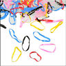 Rubber 400pcs Hairband Rope Ponytail Holder Elastic Hair Band Ties Braid Plaits