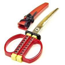 KATANA Schere NIHONTO Rot hergestellt in Japan wie ein japanisches Schwert
