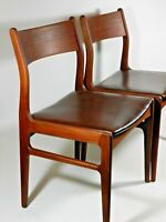 Vintage Mid Century Modern Teak Dining Chairs