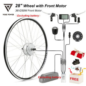 """36V 250W 28""""(700C) Wheel with Front Motor Electric Bicycle Ebike Conversion Kit"""