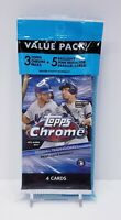 2020 Topps Chrome Baseball Value Cello Value Pack