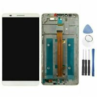 Für Huawei Ascend Mate 7 LCD Display Touch Screen Digitizer Rahmen Weiß + Tools