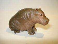Schleich 14682 Flusspferd Junges Kalb Baby Hippo Tiere Sammlung hippopotamus